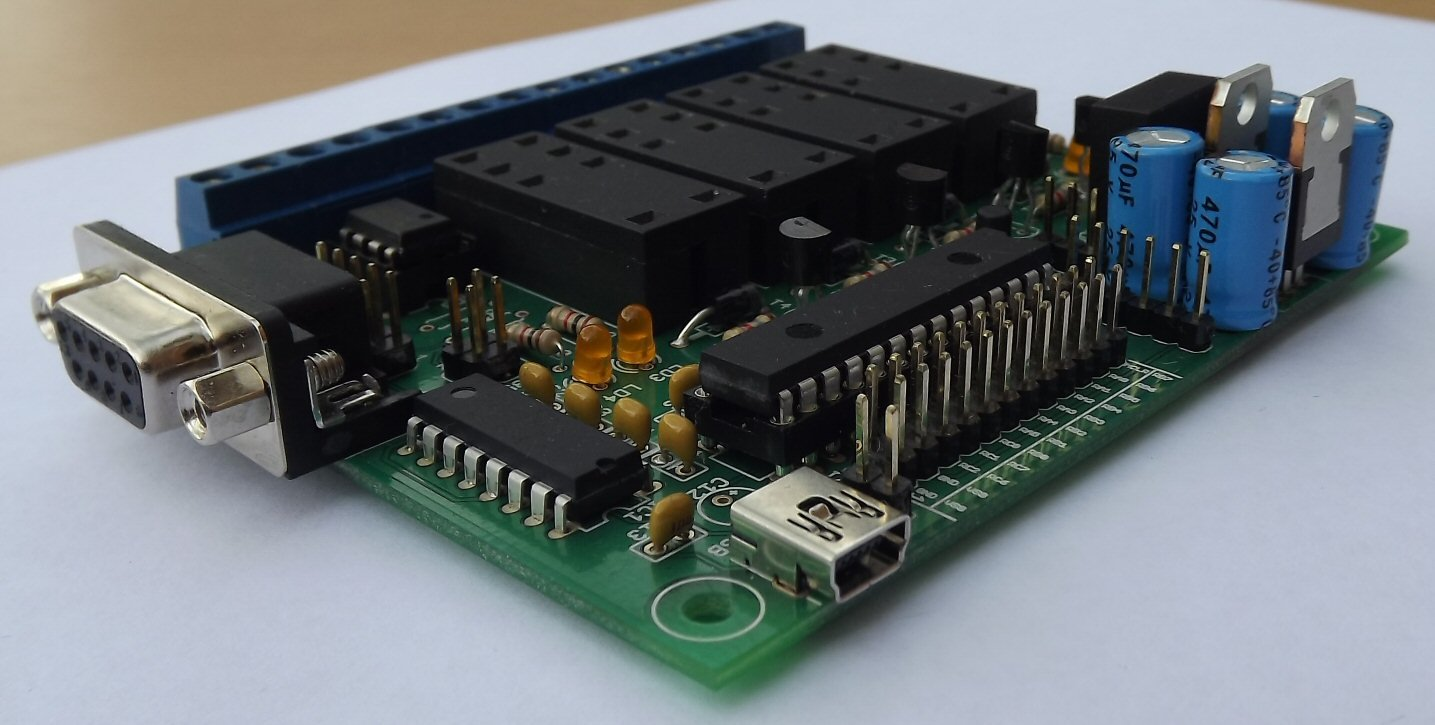 Quad Relay Control With Pic Microcontroller From Zarcraft
